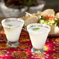 margaritas with Mexican food in Marana, AZ