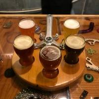 Catalina Brewing beer tasting