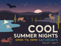 Cool Summer Nights at Arizona-Sonora Desert Museum