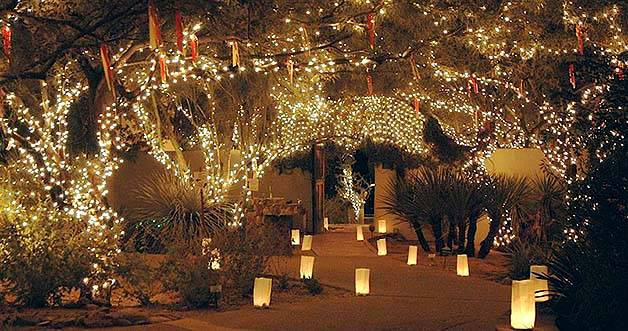 Holiday Nights at Tohono Chul Park