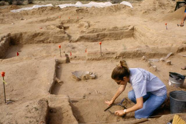 Marana Hohokam Platform Mound Archaeological Community Tour