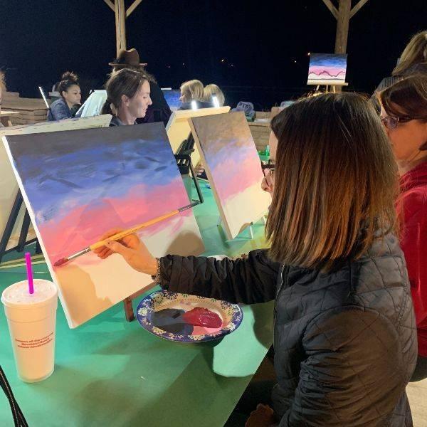 Marana Parks & Recreation Paint Night in the Parks