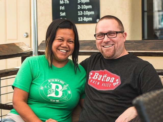 Button Brew House serves one of the finest spicy beers this side of the border