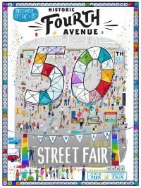 Historic Fourth Avenue 50th Winter Street Fair