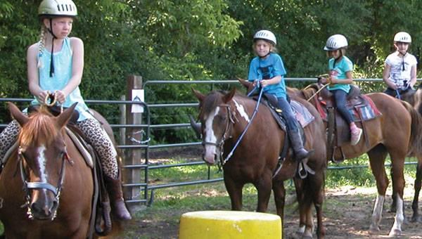 Marana Parks and Recreation Fall Horse Camp