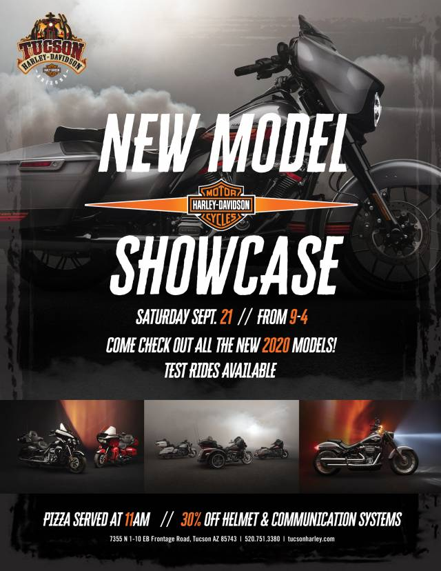 Tucson Harley Davidson New Model Showcase