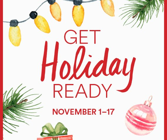 """GET HOLIDAY READY "" AT TUCSON PREMIUM OUTLETS"
