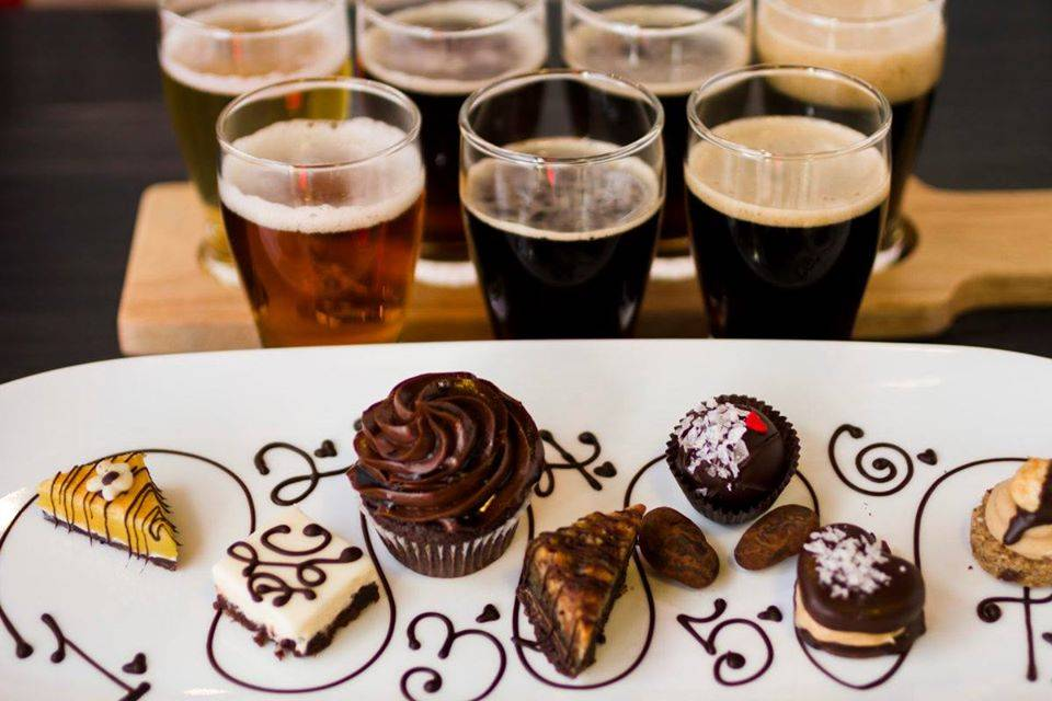 Valentine's Chocolate and Beer Pairing at Catalina Brewing Company