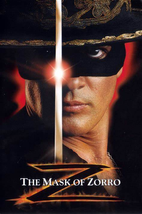 The Mask of Zorro Movie and Mexican Paper Craft hour