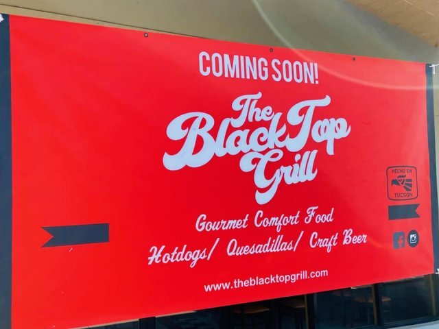 Now Open:  The Blacktop Grill
